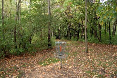 Willow Metropark, Main course, Hole 18 Reverse (back up the fairway)