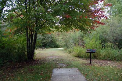 Willow Metropark, Main course, Hole 23 Long tee pad