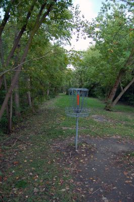 Willow Metropark, Main course, Hole 24 Reverse (back up the fairway)