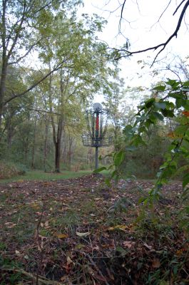 Willow Metropark, Main course, Hole 23 Reverse (back up the fairway)