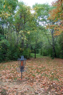 Willow Metropark, Main course, Hole 22 Reverse (back up the fairway)