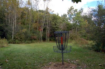 Willow Metropark, Main course, Hole 16 Reverse (back up the fairway)