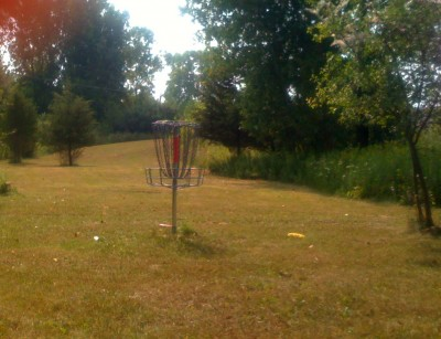 Jackson College, Main course, Hole 12 Reverse (back up the fairway)