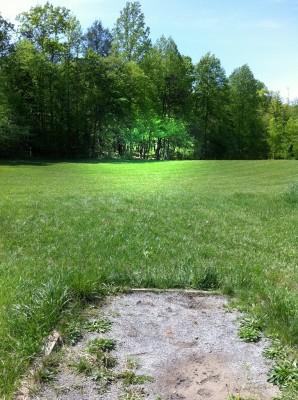 Greene Co. Community Park, Main course, Hole 7 Tee pad