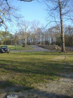 Pharaoh's Tomb @ White Bank Park, Main course, Hole 18 Long tee pad