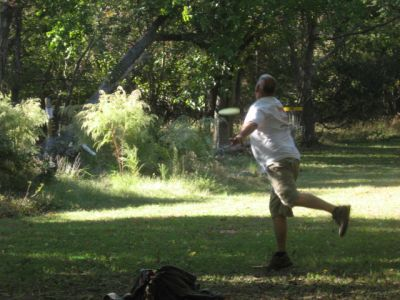 Indiantown Park, Main course, Hole 17 Short approach