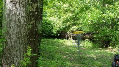 Emory and Henry, Main course, Hole 7 Short approach