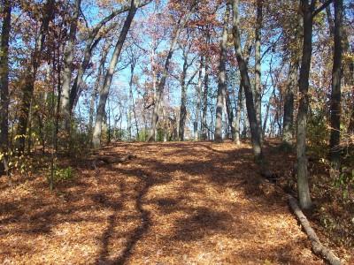Knollwood Park, Main course, Hole 16 Tee pad