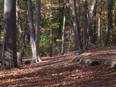 Knollwood Park, Main course, Hole 14 Midrange approach