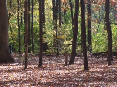 Knollwood Park, Main course, Hole 1 Short approach