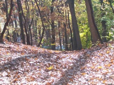Knollwood Park, Main course, Hole 17 Short approach