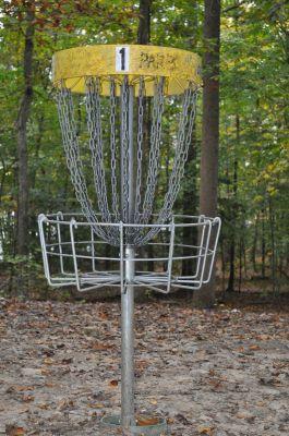 Burke Lake Park, Main course, Hole 1 Alternate pin