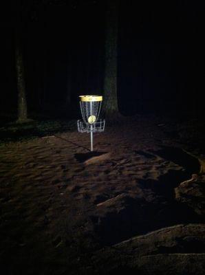 Burke Lake Park, Main course, Hole 10 Putt