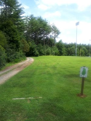 Washinton and Lee University, Main course, Hole 2 Tee pad