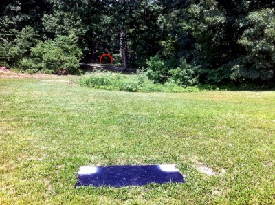 Signal View, Main course, Hole 4 Short tee pad