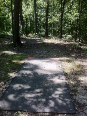 Signal View, Main course, Hole 6 Middle tee pad