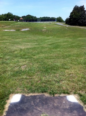 Signal View, Main course, Hole 9 Short tee pad