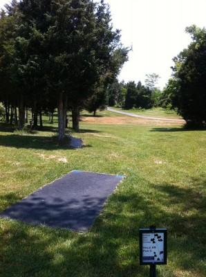 Signal View, Main course, Hole 8 Long tee pad