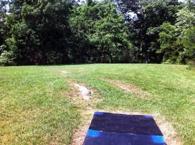 Signal View, Main course, Hole 2 Long tee pad