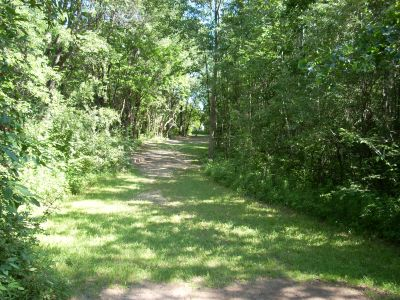 Oshtemo Township Park, Main course, Hole 2 Tee pad