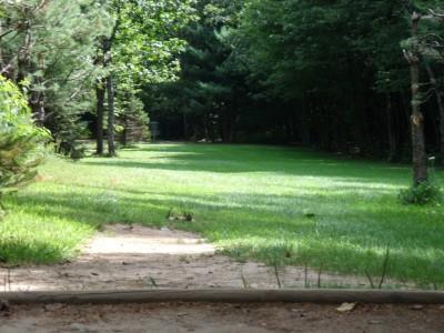 Oshtemo Township Park, Main course, Hole 10 Short tee pad