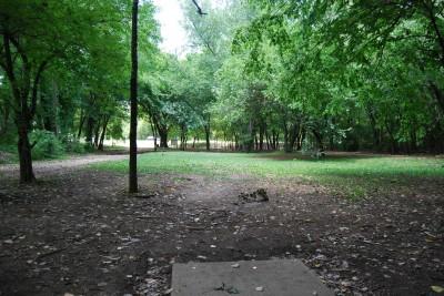 Gillies Creek Park, Main course, Hole 13 Tee pad