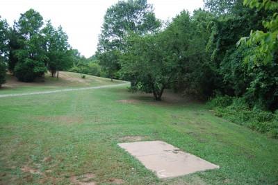 Gillies Creek Park, Main course, Hole 6 Short tee pad