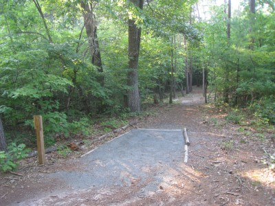 Sontag, Main course, Hole 5 Middle tee pad