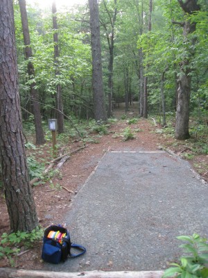 Sontag, Main course, Hole 16 Middle tee pad