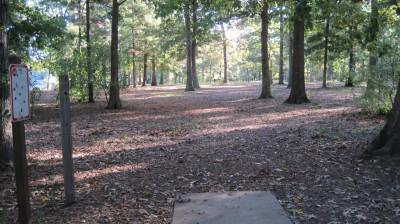 Bayville Park, Main course, Hole 14 Tee pad