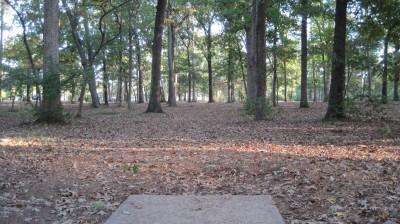 Bayville Park, Main course, Hole 5 Tee pad