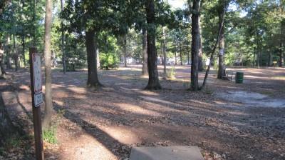 Bayville Park, Main course, Hole 12 Tee pad