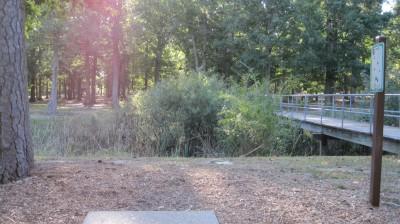 Bayville Park, Main course, Hole 17 Short tee pad