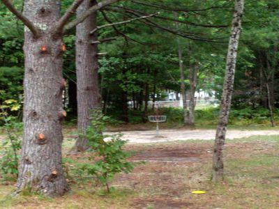 Log Lake Park, Main course, Hole 17 Short approach
