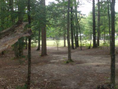 Log Lake Park, Main course, Hole 4 Short approach