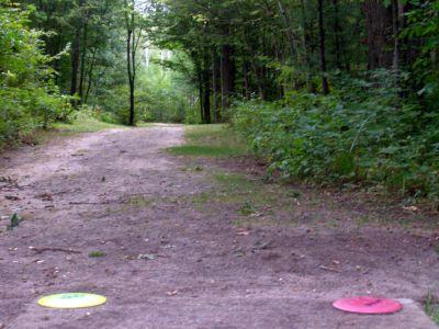 Log Lake Park, Main course, Hole 15 Tee pad