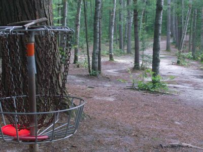 Log Lake Park, Main course, Hole 6 Reverse (back up the fairway)