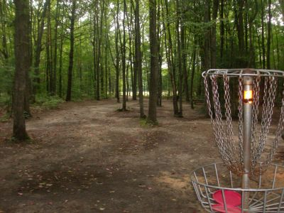 Log Lake Park, Main course, Hole 2 Reverse (back up the fairway)
