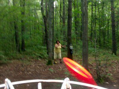 Log Lake Park, Main course, Hole 16 Putt