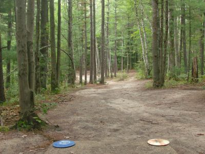 Log Lake Park, Main course, Hole 6 Tee pad