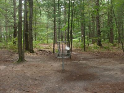 Log Lake Park, Main course, Hole 10 Putt