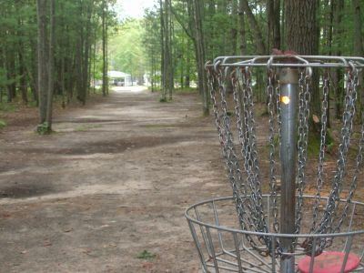 Log Lake Park, Main course, Hole 5 Reverse (back up the fairway)