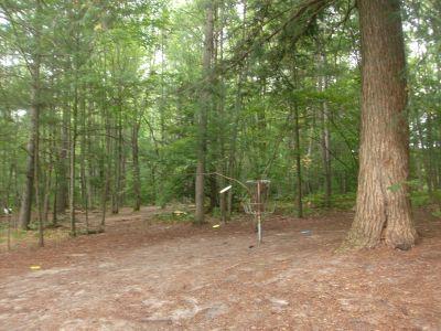 Log Lake Park, Main course, Hole 6 Putt