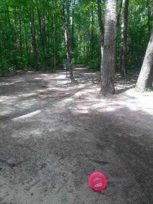 Log Lake Park, Main course, Hole 3