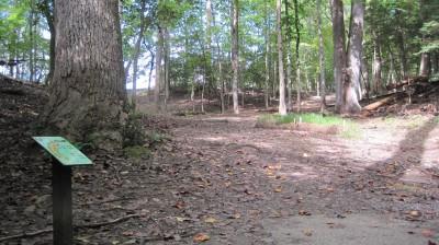 New Quarter Park, Main course, Hole 5 Tee pad