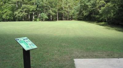 New Quarter Park, Main course, Hole 7 Tee pad