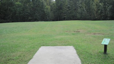 New Quarter Park, Main course, Hole 3 Tee pad