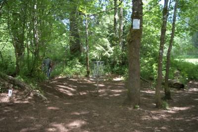 White River, Main course, Hole 3 Putt