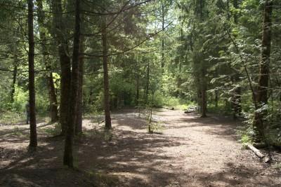 White River, Main course, Hole 9 Midrange approach