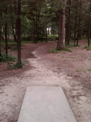 J.C. Park, Main course, Hole 8 Tee pad